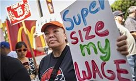 Fast food workers plan biggest US strike to date over minimum wage