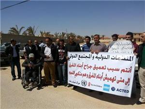 متعطلون عن العمل يطالبون بتوفير وظائف في مخيم الزعتري