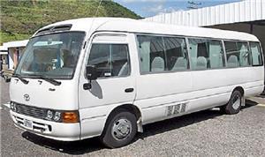 إضراب حافلات العمومي (الغويرية) في الزرقاء