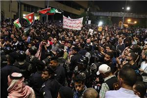 تواصل الوقفات الاحتجاجية لليوم الخامس على التوالي
