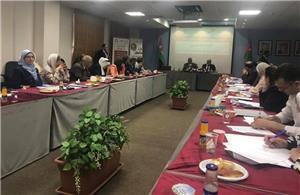 جلسة حوارية عن واقع المرأة بالضمان الاجتماعي