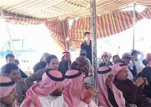 استمرار اعتصام أهالي الديسة لليوم السابع على التوالي
