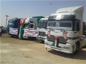 سائقو الشاحنات يواصلون الاعتصام لليوم الثاني على التوالي